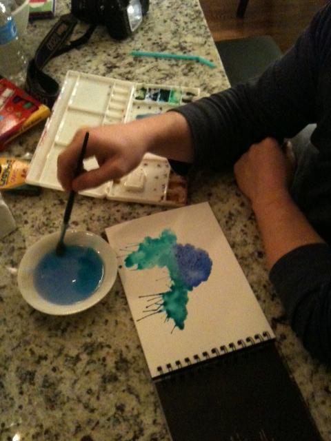 making more blobs