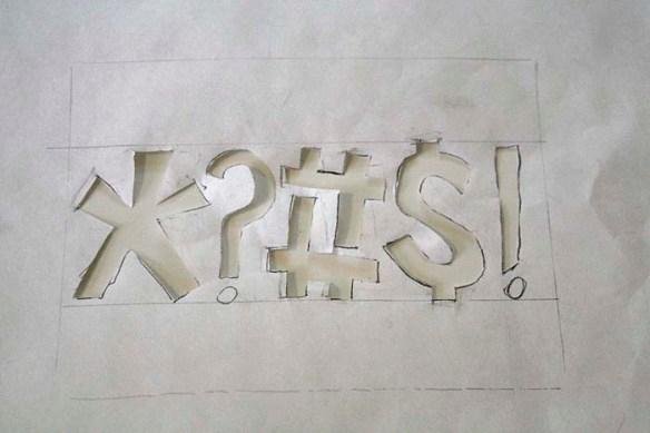 screen printing stencil
