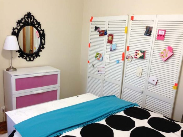 bedroom rae's days mirror