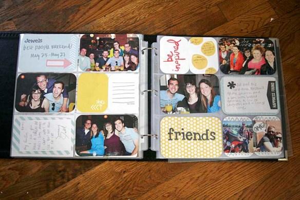 project life scrapbook