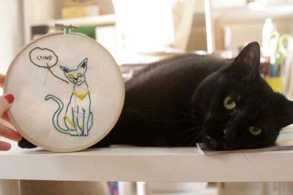 #fatcat and #lyingcat