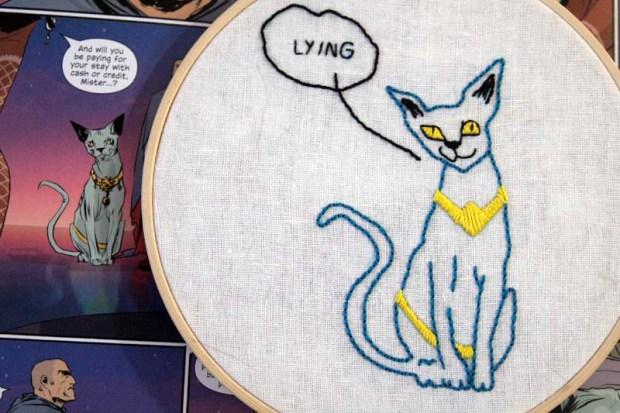 Lying Cat from Saga