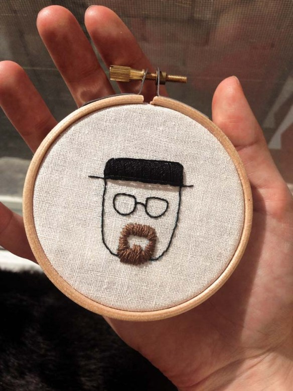 mini heisenberg embriodery