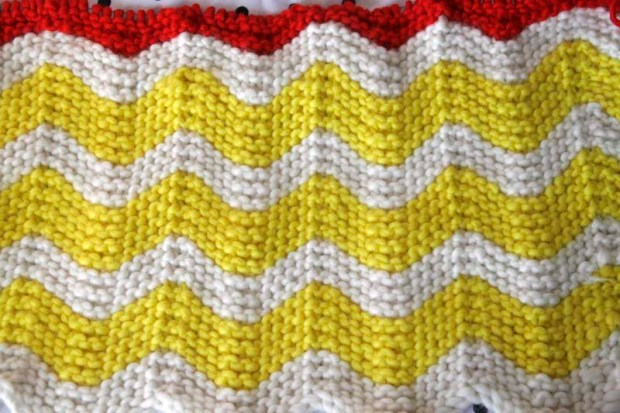 baby blanket stripes