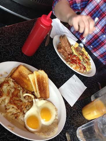 ernie's breakfast