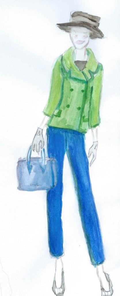 kate spade fashion illustration