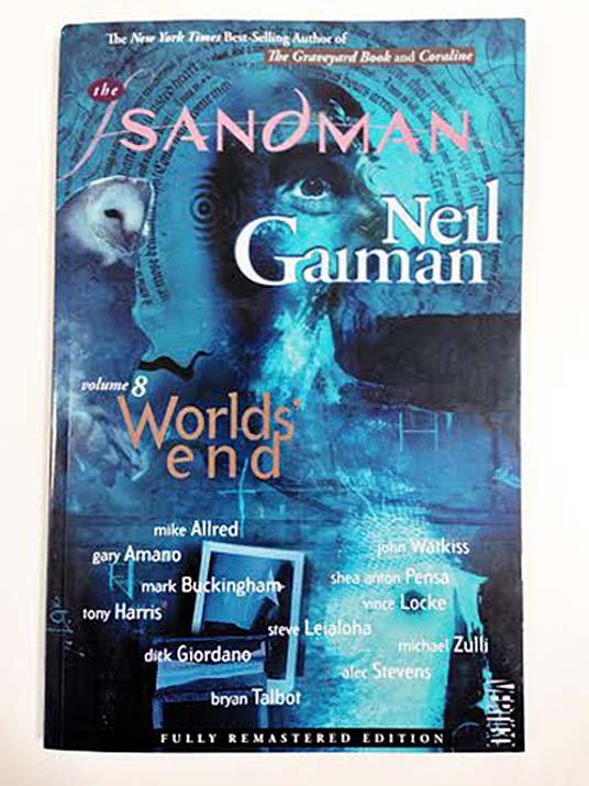 sandman worlds end vol 8