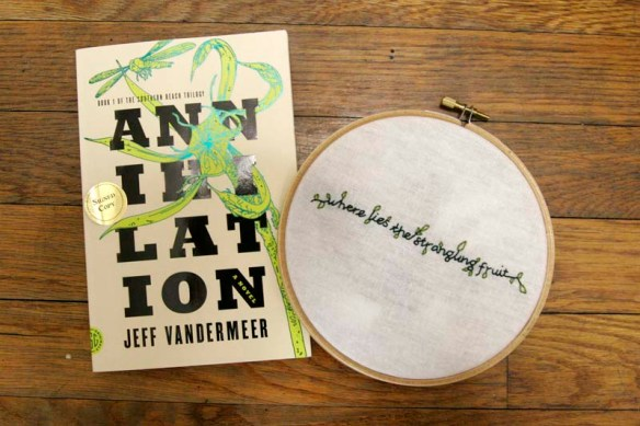embroidery from annihilation