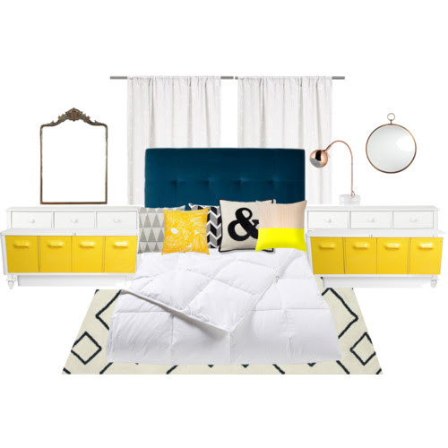 bedroom inspiration from polyvore