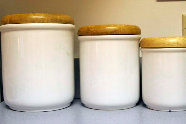 containers for the kitchen counter
