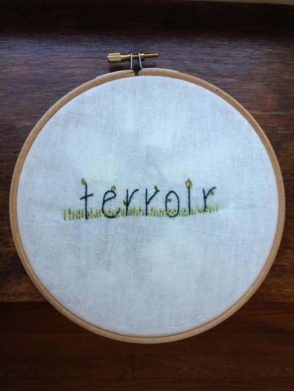 embroidery from jeff vandermeer's authority