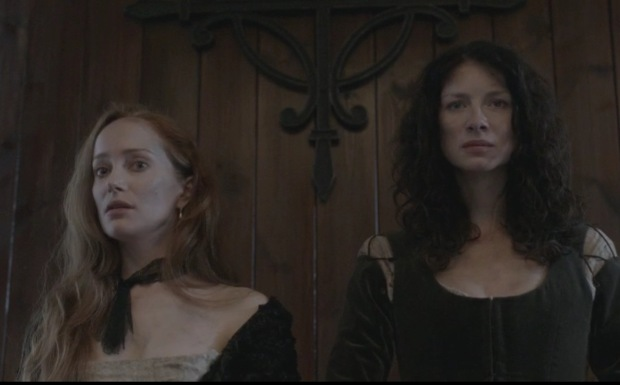 claire and geillis from outlander